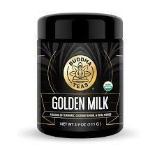 Buddha Teas Golden Milk Powder 3.9 oz.