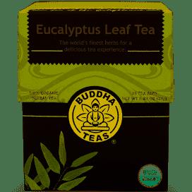 Buddha Tea Organic Eucalyptus Leaf Tea 18 Bags