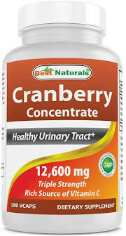 Best Naturals Vitamin Cranberry Concentrate 12600  180 vgc