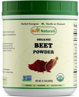 Best Naturals Organic Beet Powder 8.5 oz