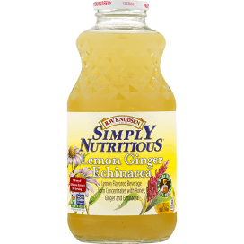 Knuden Simply Nutritious Lemon Ginger Echinacea 32 Oz