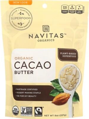 Navistas Organic Cacao Butter 8oz