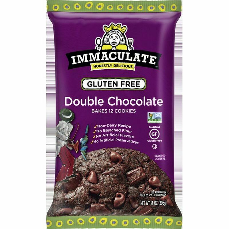 Immaculate Baking Double Chocolate Gluten Free Cookie Dough
