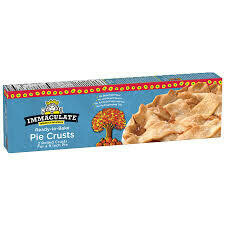 Immaculate Baking Ready To Bake Pie Crusts 2 Pk