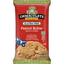 Immaculate Baking Gluten Free Peanut Butter Cookie Dough