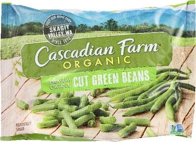 Cascadian Farm Organic Cut Green Beans 16 oz