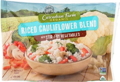 Cascadian Farm Organic Riced Cauliflower Blend Stir-Fry