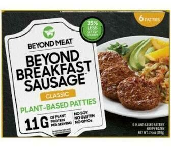 Beyond Meat Sausage Patties