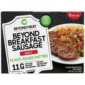 Beyond Meat Spicy Sausage Patties