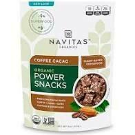 Navitas Organic Power Snack Coffee Cacao  8 oz