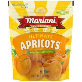 Mariani Dried Apricots 6 Oz