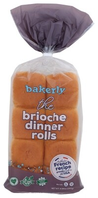 Bakery Brioche Dinner Rolls