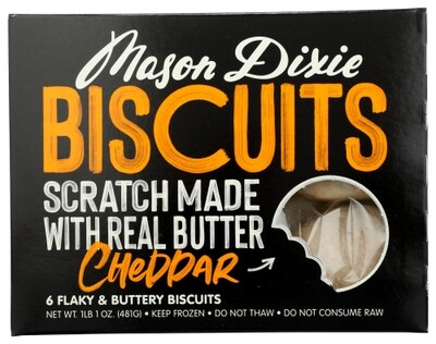Mason Dixie Cheddar Biscuits
