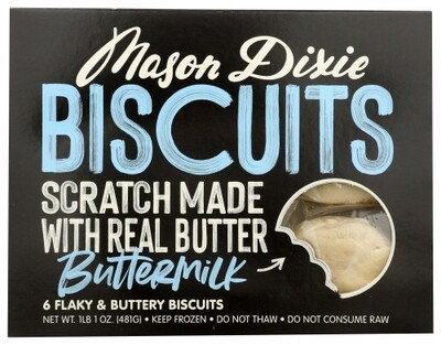 Mason Dixie Buttermilk Biscuits