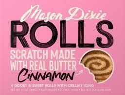 Mason Dixie Cinnamon Rolls