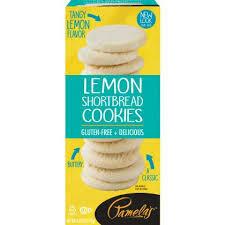 Pamela's Lemon Short bread Cookies Gluten Free