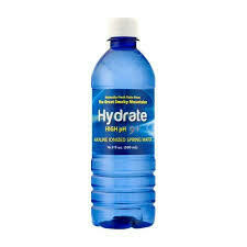 Hydrate High Ph 9+ Alkaline Ionized Spring Water