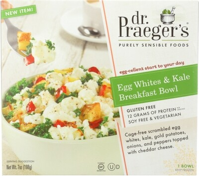 Dr Praegers Egg White And Kale Breakfast Bowl