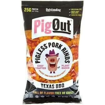 Pig Out Porkless Rinds Texas Bbq