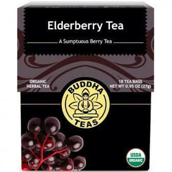 Buddha Tea Organic Elderberry Tea