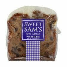 Sweet Sam's Iced Carrot Cake Slice