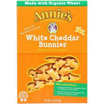 Annie's Organic White Cheddar Bunnies 7.5 oz
