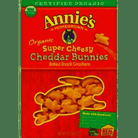 Annie's Organic Super Cheesy Cheddar Bunnies 7.5 oz