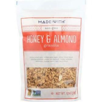 Made With Non Gmo Honey And Almond Granola