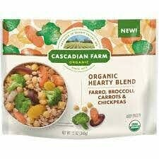 Cascadian Farms Organic Hearty Blend Farro, Broccoli, Carrots And Chickpeas