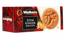 Walkers Stem Ginger Biscuit Cookies