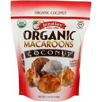 Jennies Organic Coconut Macaroons
