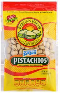 Keenan Farms Sea Salt Pistachios