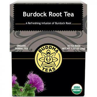 Buddha Tea Organic Burdock Root Tea