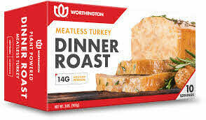 Worthington Meatless Turkey Dinner Roast