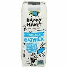Happy Planet Vanilla Oatmilk 32 Oz.