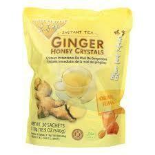 Prince Of Peace Ginger Beverage Honey Crystals Bag 30 Ct
