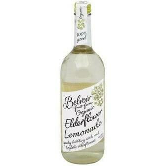 Belvoir Organic Elderflower Lemonade 25.4 OZ