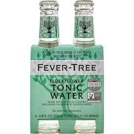 Fever Tree Tonic Water With Elderflower