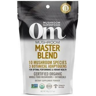 OM Mushroom Organic Master Blend Superfood