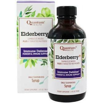 Quantum Health Immune Defense Elderberry Syrup 4 fl. oz.