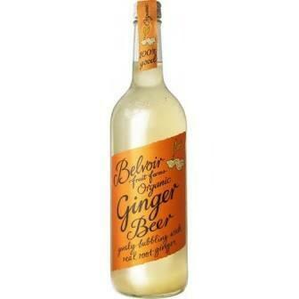 Belvoir Organic Ginger Beer 25.4 oz.