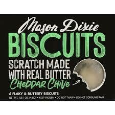 Mason Dixie Cheddar Chive Biscuits