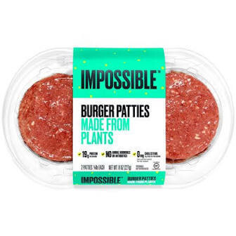 Impossible Burger Patties 2 Pack