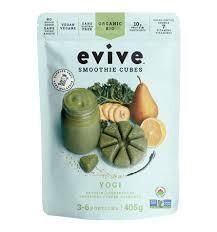Evive  Smoothie Cubes, Yogi, Organic