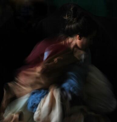 """""""Il Lupo in Maschera"""" Self portrait ©Ilaria Facci"""