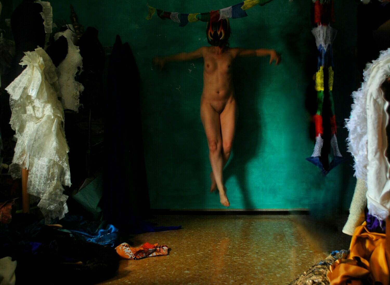 """""""Messa in Scena"""" #6 Self portrait ©Ilaria Facci"""