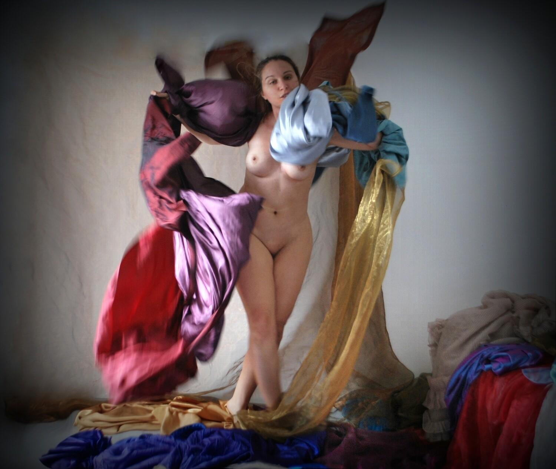 """""""La Recita a scuola"""" #6. La Strega dei Mari Self portrait ©Ilaria Facci"""