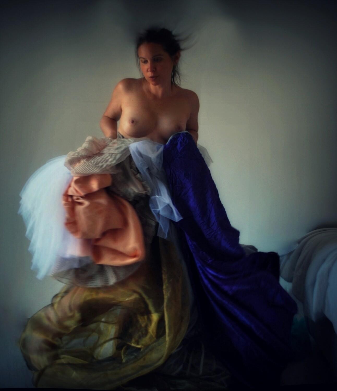 """""""Gli Sporchi Barocchi"""" #3 Selfportrait ©Ilaria Facci"""