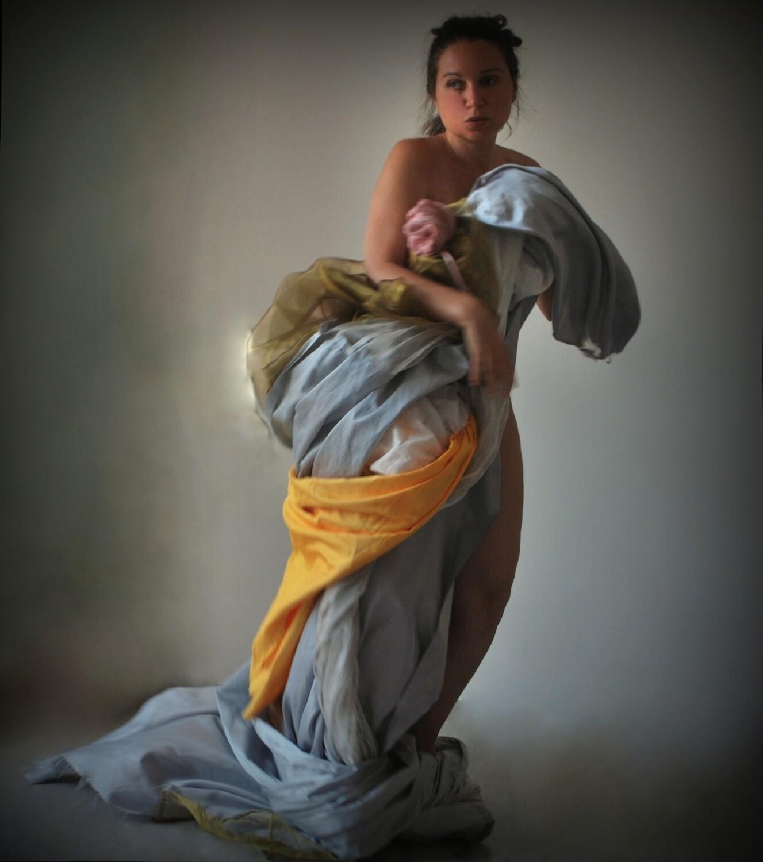 """""""Gli sporchi Barocchi"""" #7 Self portrait ©Ilaria Facci"""