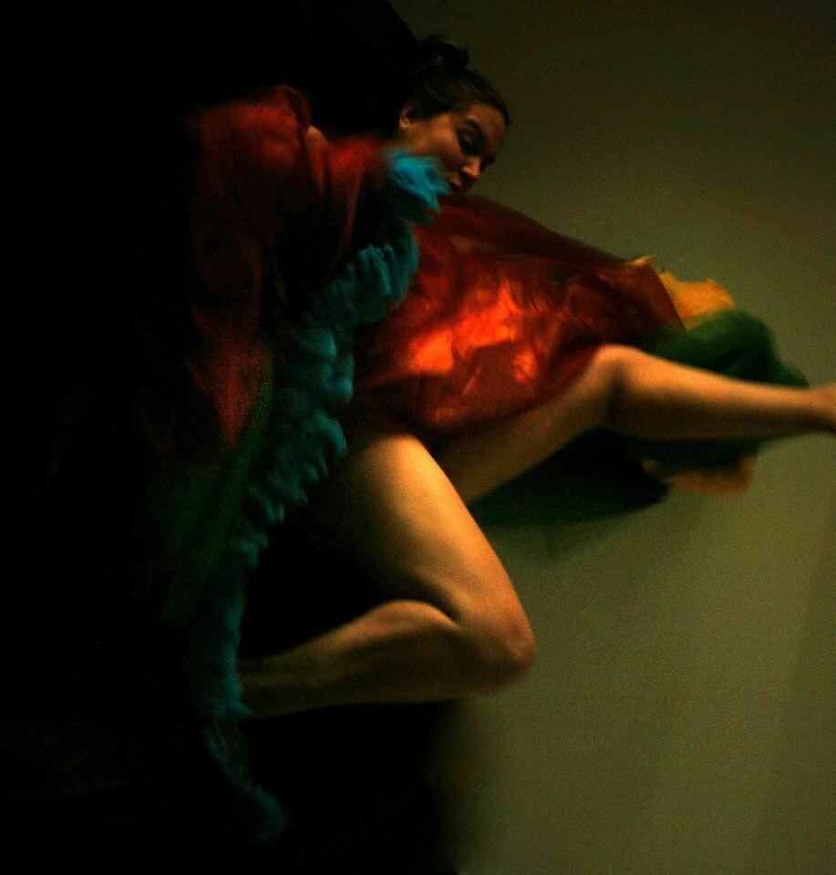 """Uccelli recisi""  selfportrait©Ilaria Facci"